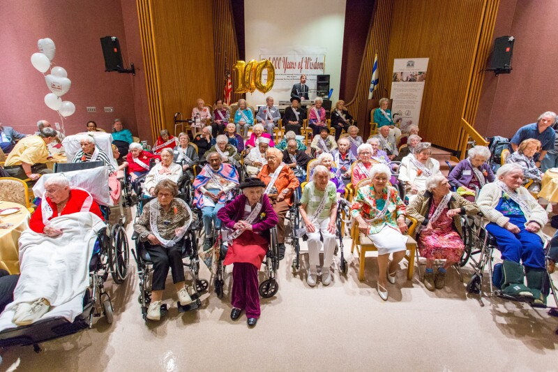Centenarians in New Jersey