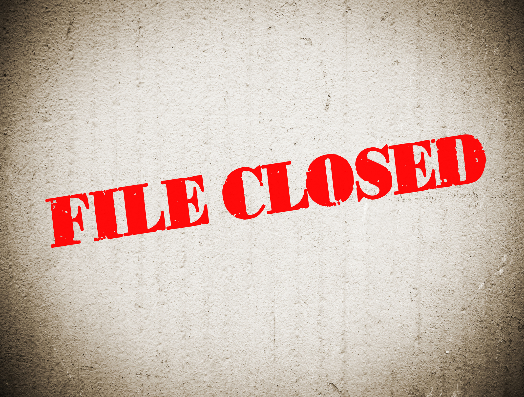 file closed