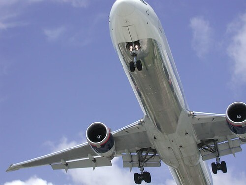 Plane Lands - Can Almost Kiss It  6-1-02