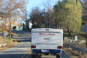 Meals on Wheels Delivery Truck