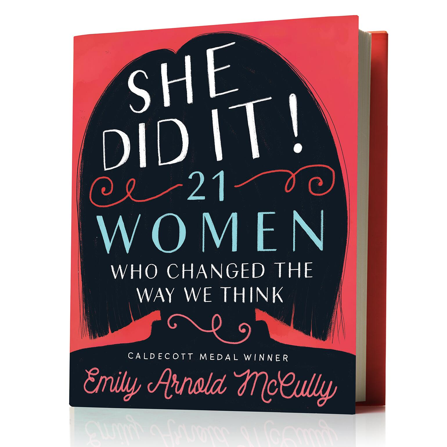 She Did It! book