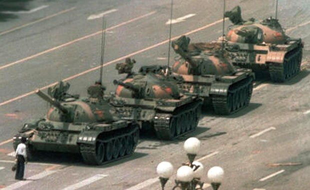 Tiananmen Square - Tank Man - China