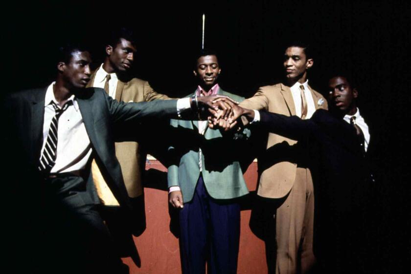 The Five Heartbeats  Five Heartbeats,  Eddie King (Michael Wright), J.T. Matthews (Leon), Donald Matthews (Robert Townsend),