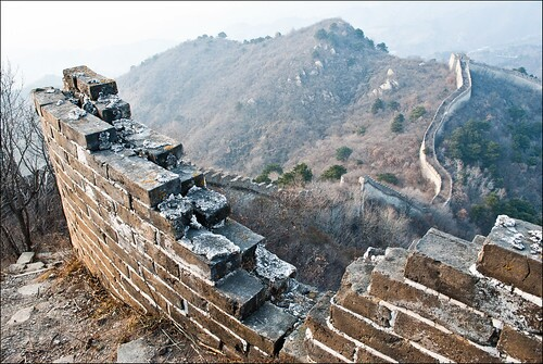 The not so great wall