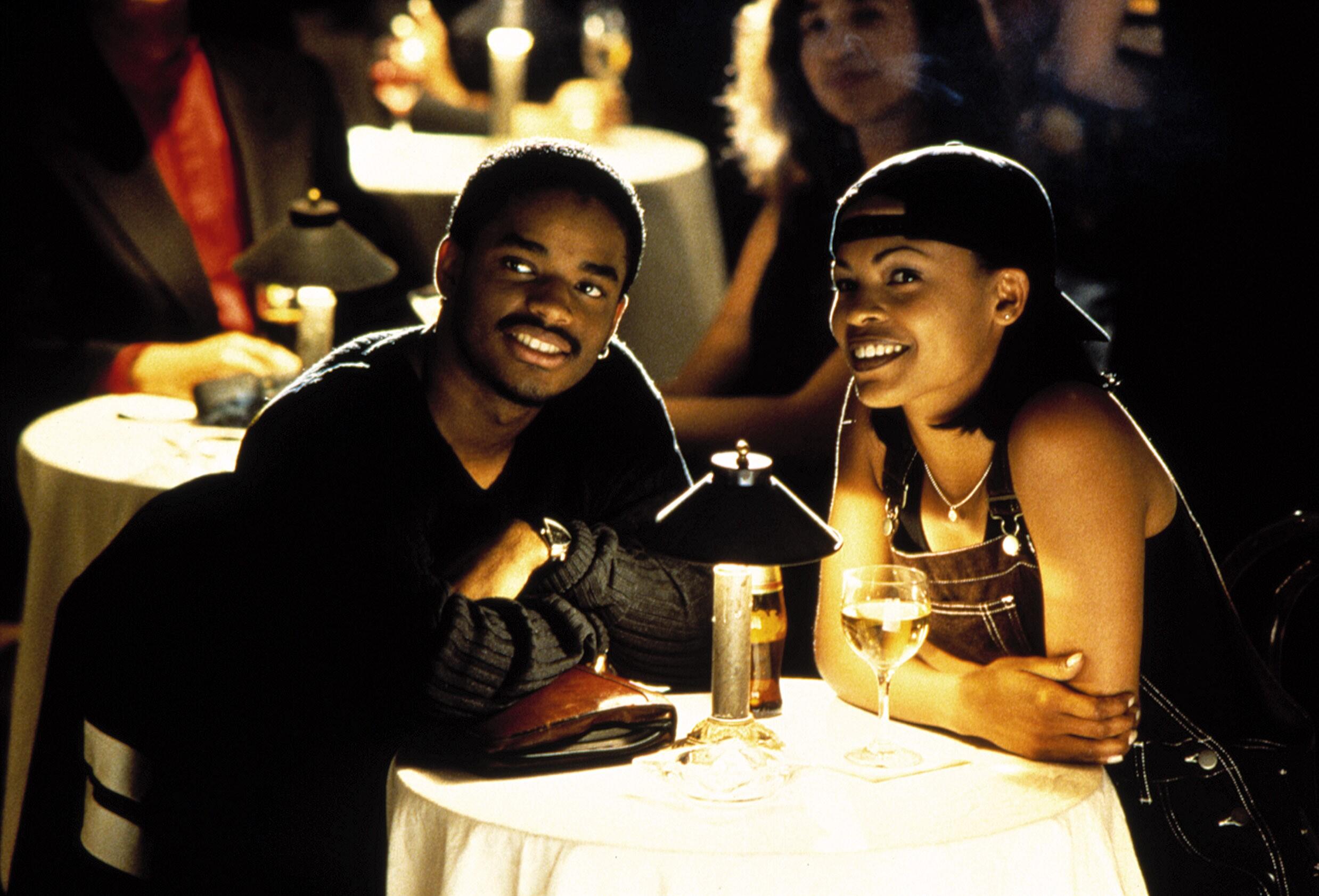 LOVE JONES, Larenz Tate, Nia Long, 1997