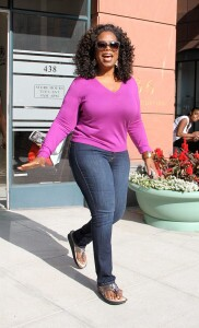 Oprah Winfrey skinny jeans