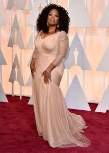 Oprah on the Oscars red carpet