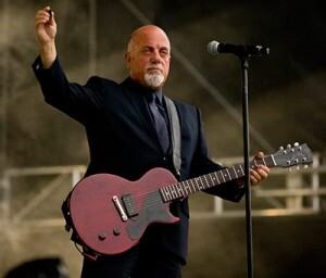 Bill Joel Plays At Fenway Park