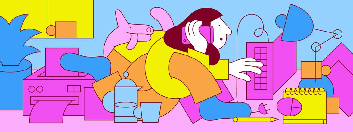 illustration_of_woman_bending_her_body_in_different_ways_while_working_from_home_by_martina_paukova_1440x540
