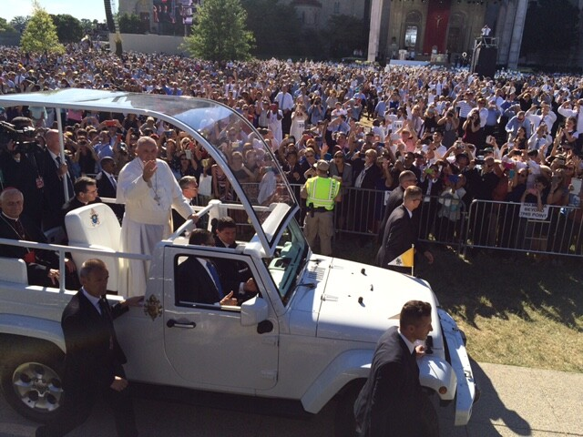Pope's parade