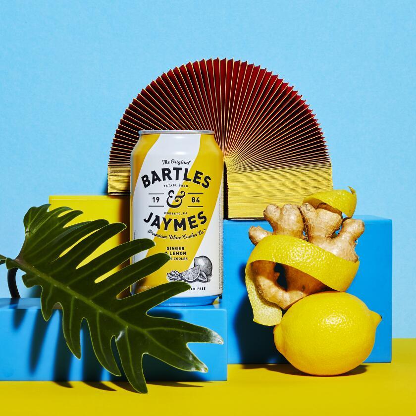 Bartles & Jaymes Ginger & Lemon Wine Cooler