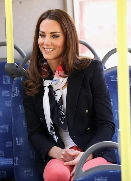 Scarf on Kate Middleton
