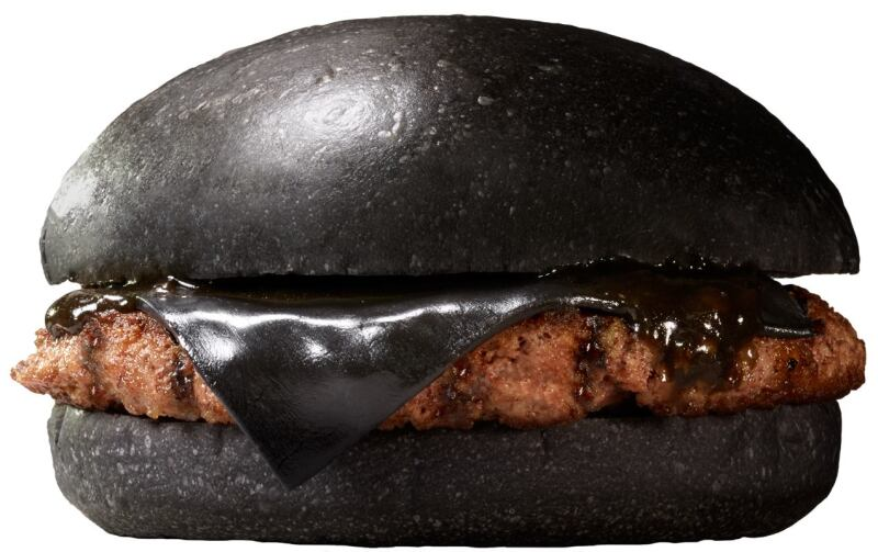 Burger King's Black Burger Fixings