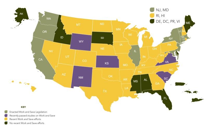 NCSL Map