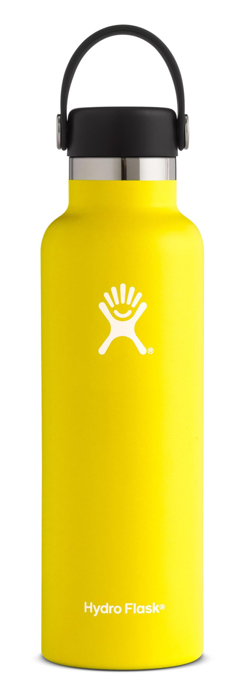 Hydro-Flask-21-oz-Standard-Mouth-Lemon
