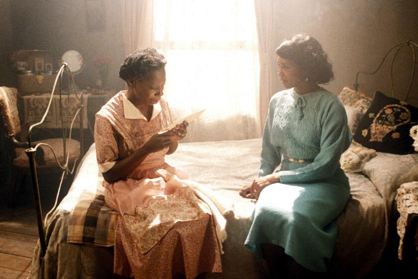 The Color Purple Year : 1985 USA Director : Steven Spielberg Whoopi Goldberg, Rae Dawn Chong
