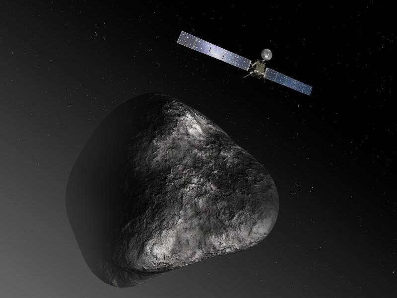 Rosetta-at-comet