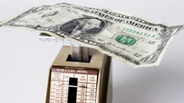 Dollar Bill on Scale