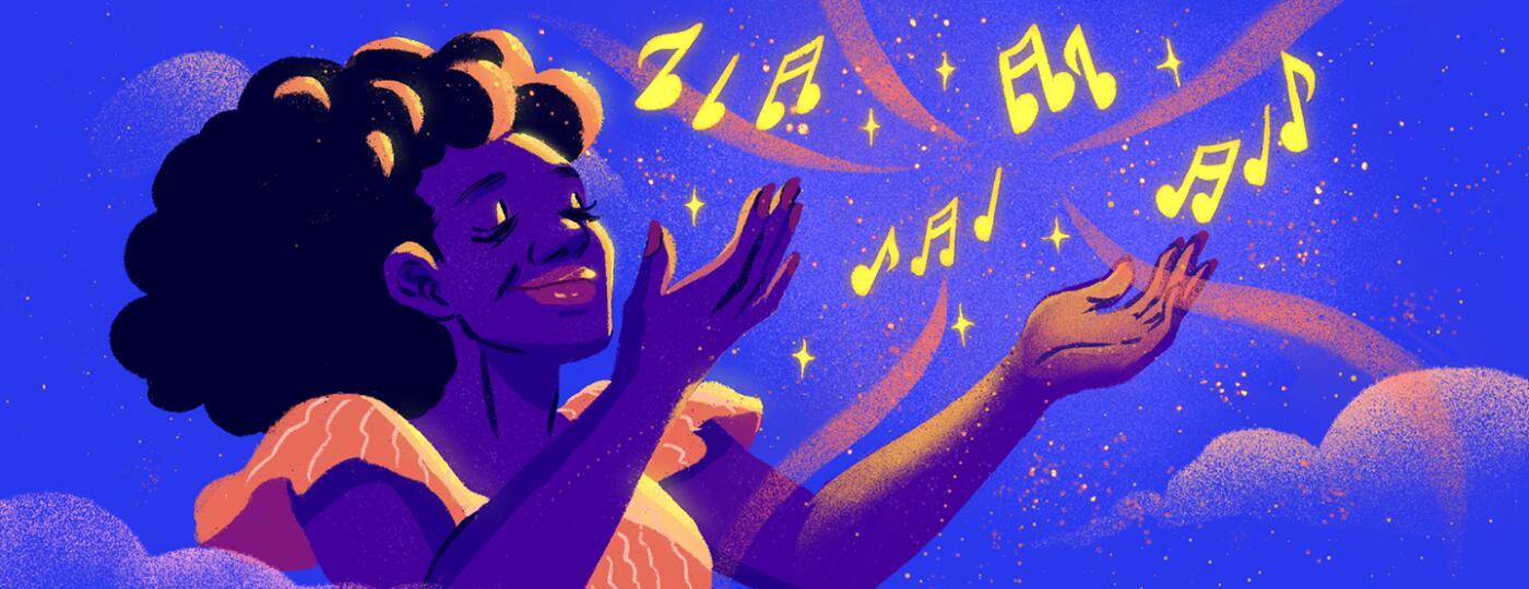 illustration_of_woman_raising_her_arms_in_praise_listening_to_music_by_Charlot_Kristensen_1440x560.jpg