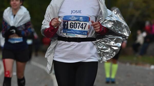 Woman Running in Marathon - Josie Castrodad