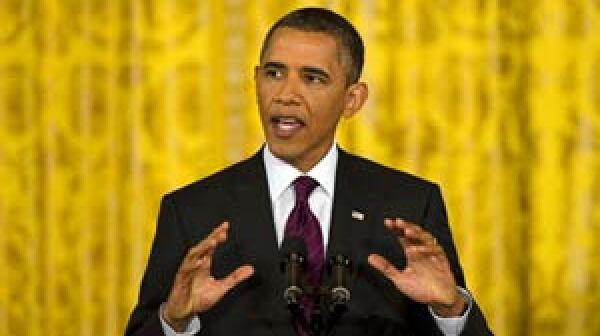 President Obama at press conference on budget negotiations