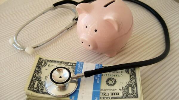 Healthcare Piggy Bank, Stethoscope