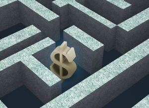 Money maze Ramberg Media Images