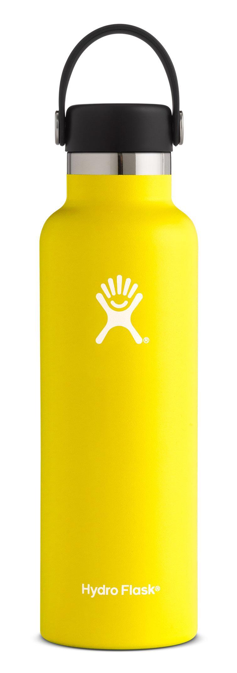 Hydro-Flask-21-oz-Standard-Mouth-Lemon
