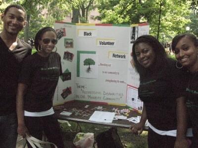 Black volunteers