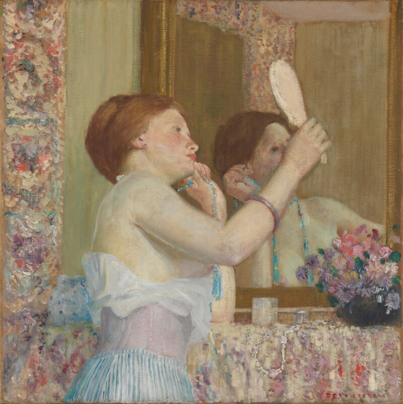Woman_with_a_Mirror,_Frieseke
