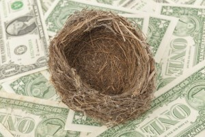 Empty nest can cost you