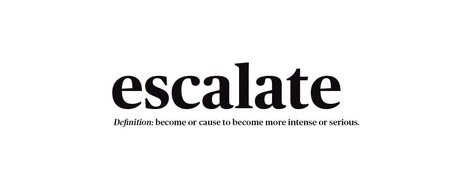Escalate with definition