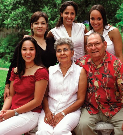 Hispanic family