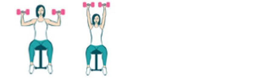 aarp, girlfriend, weights, exercise