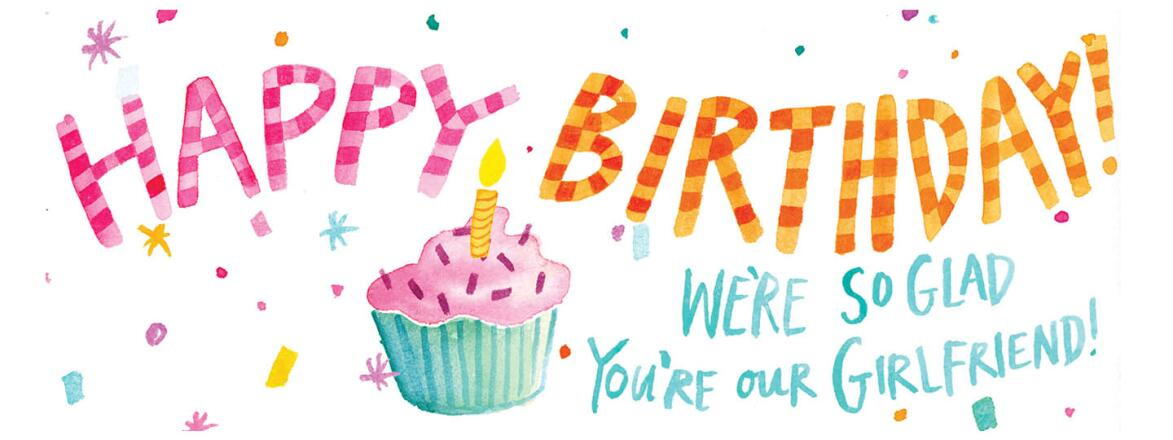 happy, birthday, text, cupcake, celebration