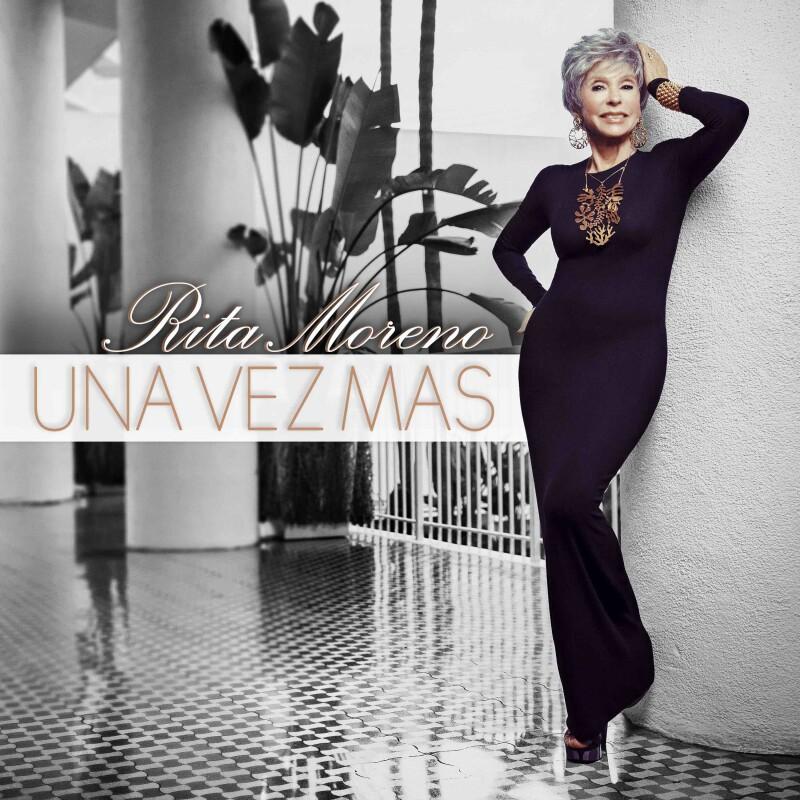 Portada del disco Una ve más de Rita Moreno