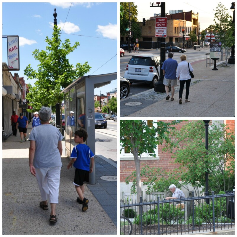 Livable Communities features in the H St NE corridor