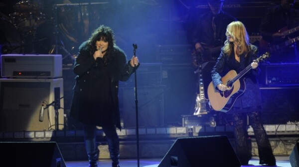 Ann Wilson and Nancy Wilson the 2012 Kennedy Center Honors