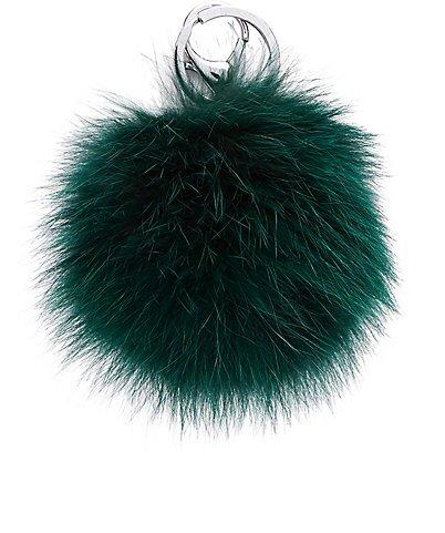 Adrienne Landau Fur Ball Keychain