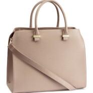 H&M faux leather satchel