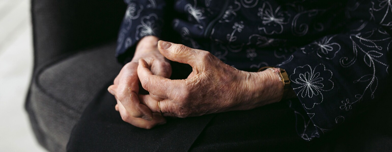 103 Year Old Womans Hands