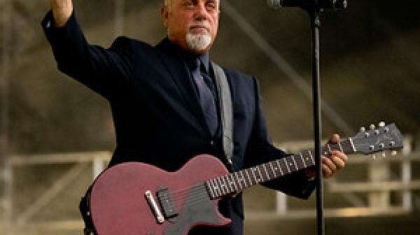 Bill Joel Plays At Fenway Park