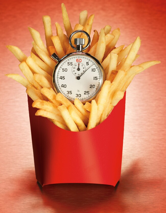 fries-clock