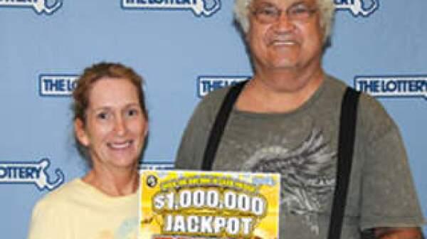 Lottery winners Joseph and Joanne Zagami