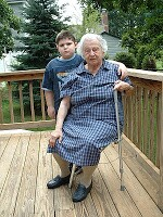 Max and Great Grams