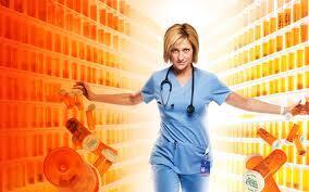 Nurse Jackie Season 5 key art