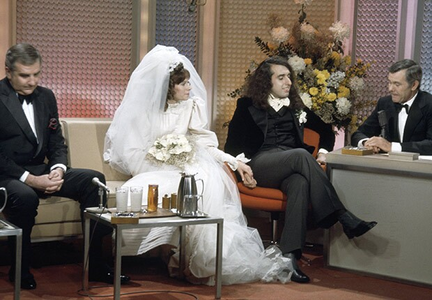 Tiny Tim and Miss Vicky Wedding on Johnny Carson