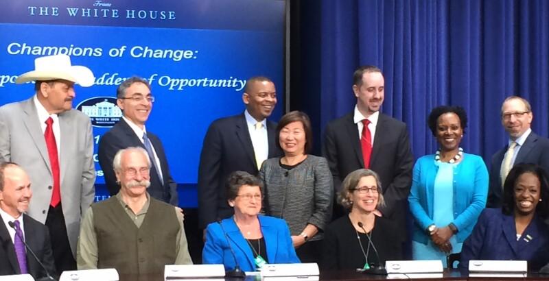 White House Transportation Champions of Change