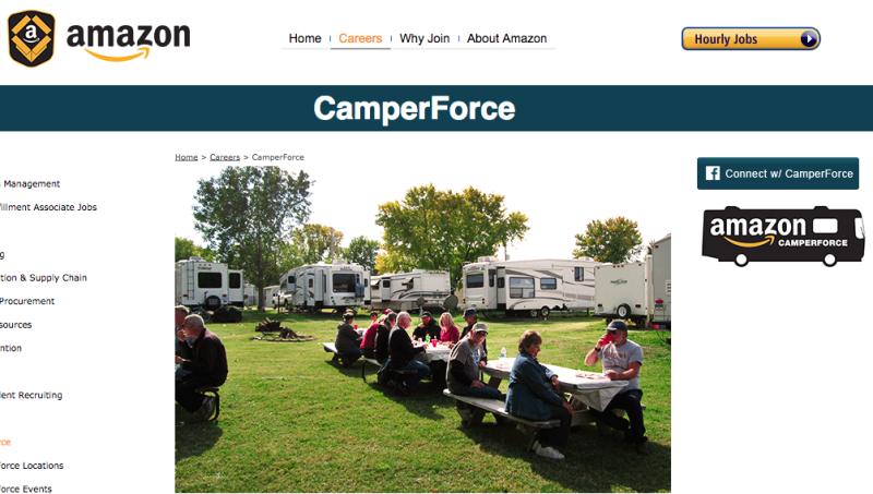 Amazon RV Work Crew - CamperForce