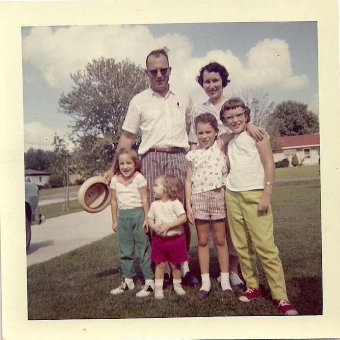Goyer Family c1961 or 1962